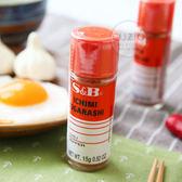 日本 S&B 一味辣椒粉 15g 一味粉 辣椒粉 調味罐 香辛料 調味料 唐辛子 炒麵 燒烤 燒肉 烤肉