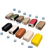 ~雪黛屋~COACH 圓筒包枕頭包超小容量附長背國際正版保證進口防水防刮皮革品證購證塵套提袋C766281