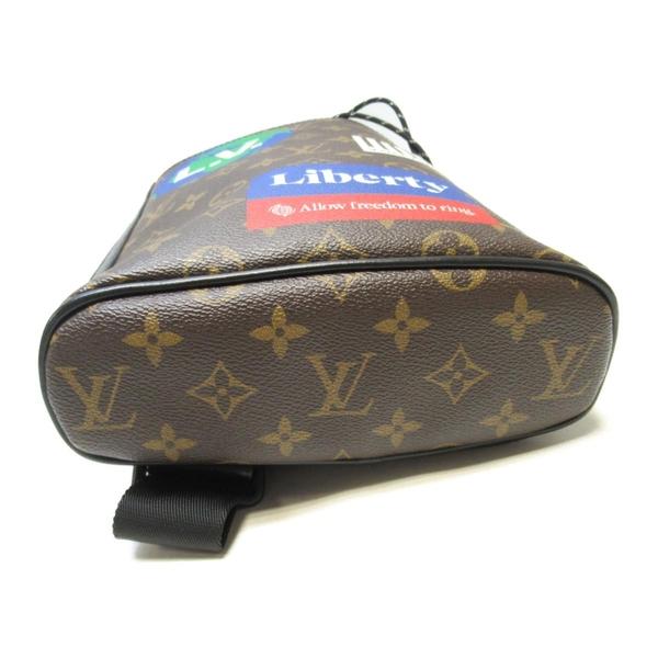 LOUIS VUITTON LV 路易威登 原花斜背包 Chalk Sling Bag M44625【二手名牌BRAND OFF】