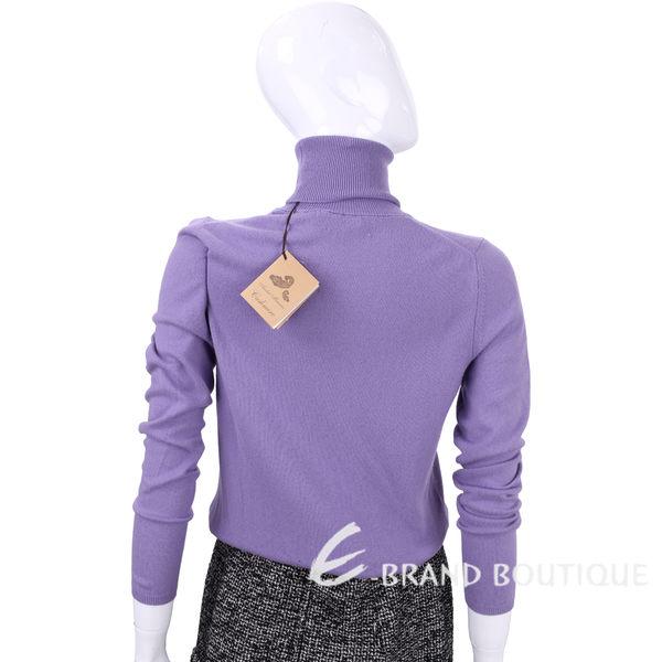 Andre Maurice 100% CASHMERE 紫色高領針織上衣 1540071-04