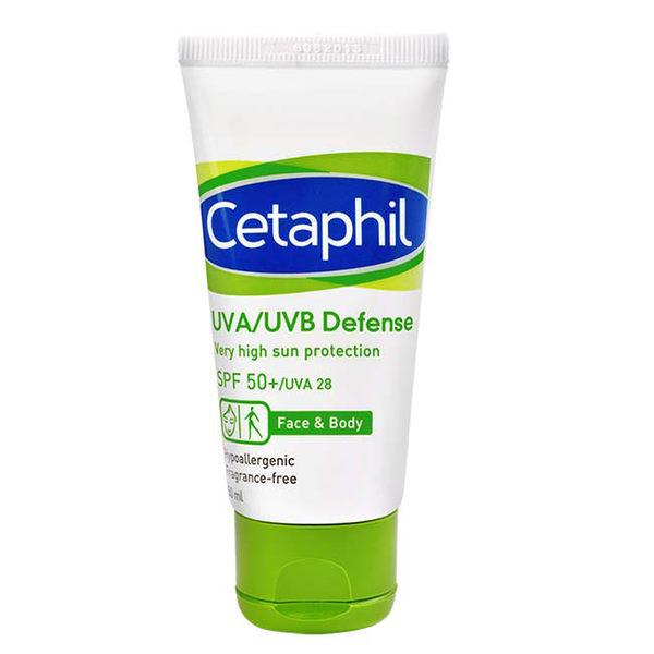 即期出清 Cetaphil 舒特膚 極緻全護低敏防曬霜 50ml SPF50+ / UVA28【瑞昌藥局】012635
