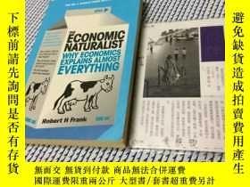 二手書博民逛書店英文原版罕見the economic naturalist :
