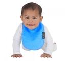 紐西蘭 Mum 2 Mum 機能型神奇口水巾圍兜-初生款-藍 吃飯衣 口水衣 防水衣