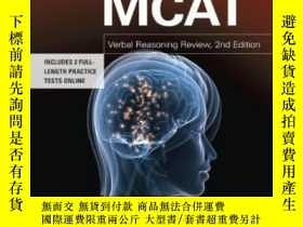 二手書博民逛書店Mcat罕見Verbal Reasoning Review 2nd Edition (graduate Schoo