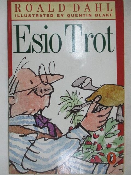 【書寶二手書T1/原文小說_A6F】Esio Trot_Roald Dahl