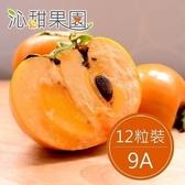 【南紡購物中心】沁甜果園SSN.高山甜柿9A(12粒裝)