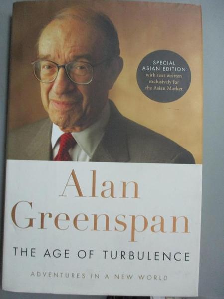 【書寶二手書T1/社會_XFV】The Age of Turbulence_Alan Greenspan