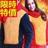 保暖內衣褲加絨(套裝)-魅力加厚保暖長袖情侶款衛生衣(單套)6款63k13[時尚巴黎]