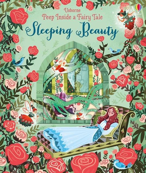 Peep Inside A Fairy Tale:Sleeping Beauty 睡美人 瞧瞧看翻翻操作書