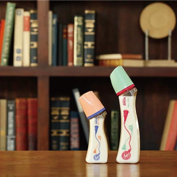 日本 Dr. Betta 防脹氣奶瓶(PPSU) Brain S2-Tassel 240ml【總代理公司貨】