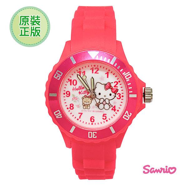 Hello kitty 網路限定運動彩帶手錶 36mm