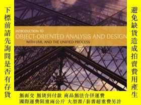 二手書博民逛書店Introduction罕見To Object Oriented Analysis And DesignY25