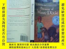 二手書博民逛書店英文原版罕見Because of Winn-DixieY1300