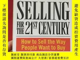 二手書博民逛書店INTEGRITY罕見SELLING FOR THE 21 ST