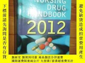 二手書博民逛書店Saunders罕見Nursing Drug Handbook