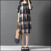 中大尺碼洋裝 連身裙★ifairies【37915】