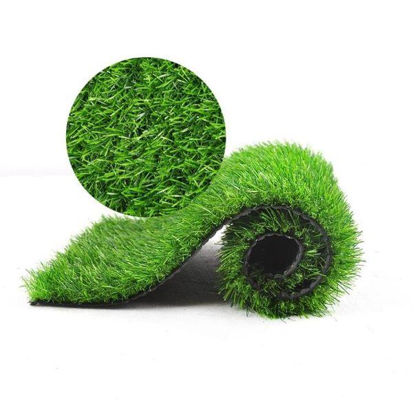 人造草坪仿真草坪人工塑料假草皮墻綠植陽臺戶外裝飾綠色地毯墊子igo『潮流世家』
