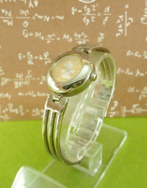 【震撼精品百貨】米奇/米妮_Micky Mouse~手錶-圓鍊式錶面-整身圖案-橘色【共1款】