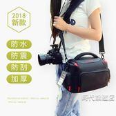 (一件免運)佳能相機包單反700D750D80D800D200D6D2單肩便攜攝影包男女微單M6