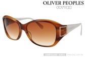 OLIVER PEOPLES 太陽眼鏡 Tacita SYC (白-琥珀棕) 墨鏡 # 金橘眼鏡