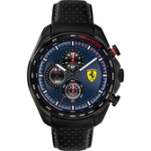 Scuderia Ferrari 法拉利 賽車計時手錶-44mm FA0830649