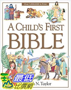 [106美國直購] 2017美國暢銷兒童書 A Child s First Bible Hardcover