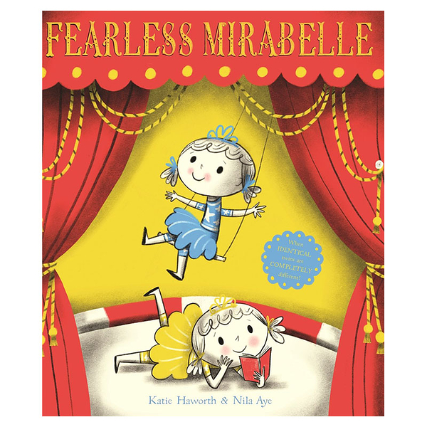 Fearless Mirabelle家庭溫馨情誼英文繪本圖畫童書