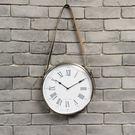 馬術風範11吋皮革掛鐘-生活工場