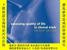 二手書博民逛書店Assessing罕見Quality Of Life In Clinical TrialsY364682 Fa