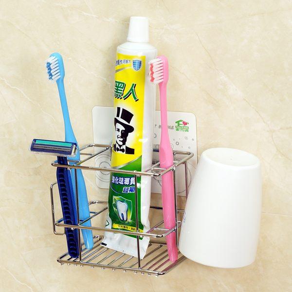 牙刷架 家而適 不鏽鋼牙膏杯架
