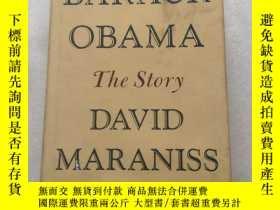二手書博民逛書店Barack罕見Obama:The Story(英文原版精裝)書口毛邊Y10729 David Maranis