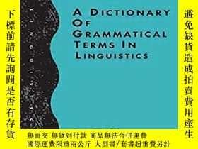 二手書博民逛書店【英文原版語言學詞典】特拉斯克編著的罕見A Dictionary of Grammatical Terms in
