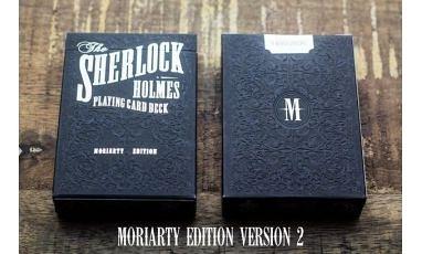 【USPCC 撲克】Sherlock Holmes - Moriarty Edition reprint V2 撲克牌