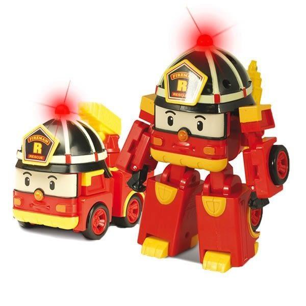 ROBOCAR POLI 波力 救援小英雄←正版 LED變形羅伊 / LED系列/附配件/可變形