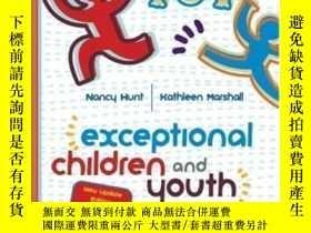 二手書博民逛書店Exceptional罕見Children And Youth: Update-特殊兒童和青年:最新情況Y43