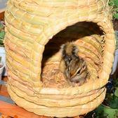 618好康又一發兔子窩龍貓天竺鼠豚鼠荷蘭豬窩魔王鬆鼠窩保暖草墊草窩刺?窩【非凡】