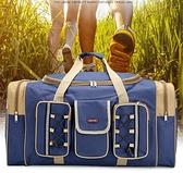 大容量男托運包搬家袋旅行包手提包拎包特大旅行袋行李袋男行李包 向日葵