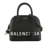【BALENCIAGA】VILLE TOP HANDLE二用貝殼包(黑)S  550645 0OTDM 1000