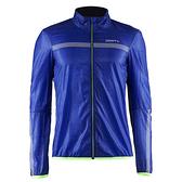【速捷戶外】瑞典Craft 1903290 男超輕量防風防潑水風衣外套(藍彩印), 跑步 單車 野跑 馬拉松 夜跑