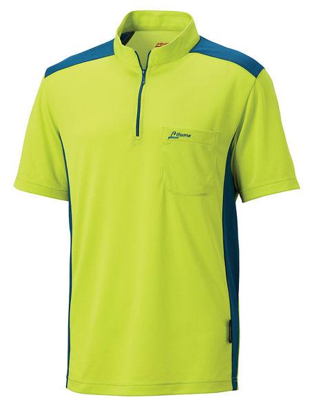 ╭OUTDOOR NICE╮意都美LITUME 男款POLARTEC POWER DRY 排汗休閒衫 螢光綠 PS006S 吸濕排汗快乾