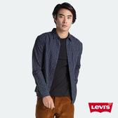 Levis 男款 長袖襯衫 / 修身版型 / 棋盤格紋 / 簡約單口袋
