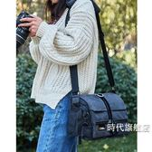 (一件免運)相機包專業單反單肩帆布多功能防水便攜佳能尼康攝影包