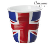 REVOL 英國國旗陶瓷皺折杯 醬汁杯 蛋糕杯 80ml