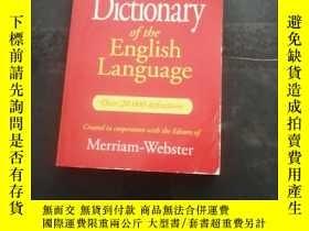 二手書博民逛書店Websters罕見thesaurus of the english language---Ouer 20,000