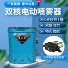 雙核泵鋰電池電動噴霧器高壓多功能消毒打藥機新款農用小型噴霧壺 小山好物