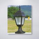 小四角戶外防水門柱燈  可搭配LED...