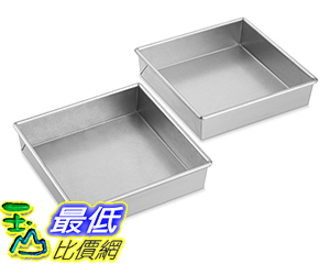 [美國直購] Williams-Sonoma Traditionaltouch Square Cake Pan, (Select Size: 8) Set of 2 烤盤