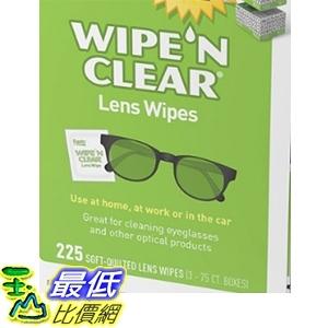 [COSCO代購] W402919 Wipe 'N Clear 鏡面擦拭紙 225張