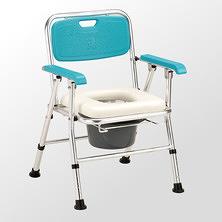 便浴椅 JCS-202 日式鋁合金收合便器椅