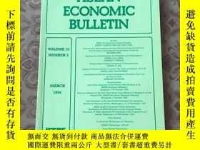 二手書博民逛書店ASEAN罕見ECONOMIC BULLETIN【東盟經濟公報】